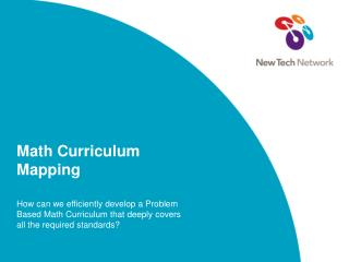 Math Curriculum Mapping