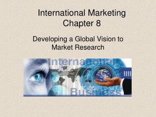 International Marketing Chapter 8