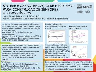 Resultados/Discussão: Comparativo NTC  NPAu vs Au bulk