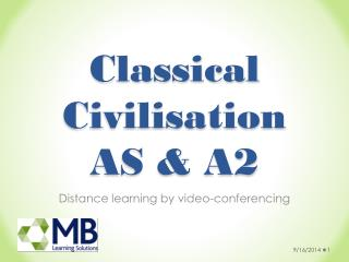 Classical Civilisation AS & A2