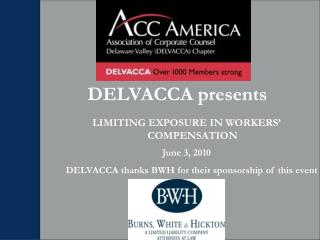 DELVACCA presents