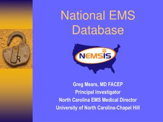 National EMS Database