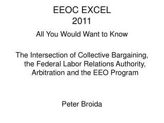 EEOC EXCEL 2011