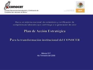 Consejo Nacional de Normalización y Certificación de Competencias Laborales de México