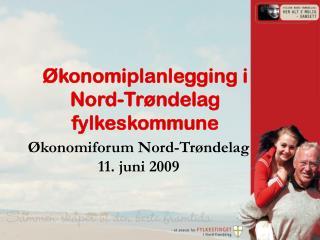 Økonomiplanlegging i Nord-Trøndelag fylkeskommune