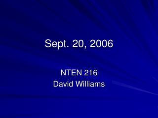 Sept. 20, 2006