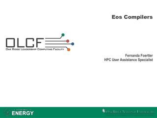 Eos Compilers