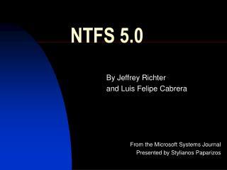 NTFS 5.0