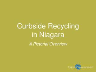 Curbside Recycling  in Niagara
