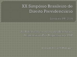 O Histórico Brasileiro