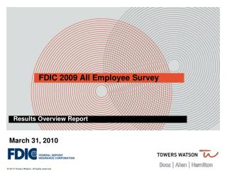 FDIC 2009 All Employee Survey