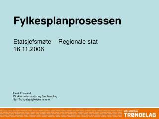 Fylkesplanprosessen
