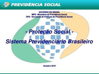 GOVERNO DO BRASIL MPS - Ministério da Previdência Social