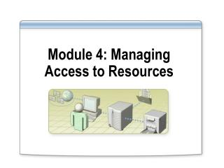 Module 4: Managing Access to Resources