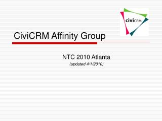 CiviCRM Affinity Group