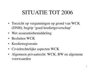 SITUATIE TOT 2006