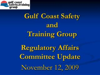 Gulf Coast Safety and Training Group