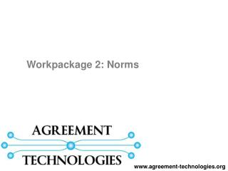 Workpackage 2: Norms