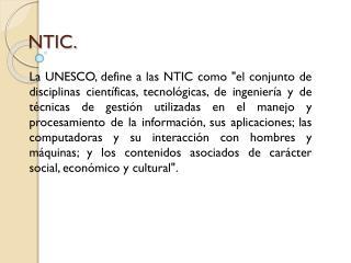 NTIC.
