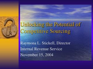 Unlocking the Potential of Competitive Sourcing