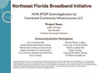 Northeast Florida Broadband Initiative