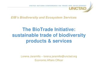 EIB's Biodiversity and Ecosystem Services