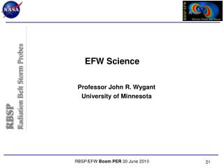 EFW Science