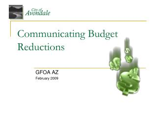 Communicating Budget Reductions
