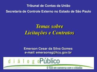 Temas sobre Licita  es e Contratos