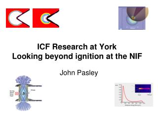 ICF Research at York Looking beyond ignition at the NIF