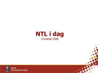 NTL i dag  4.kvartal 2008