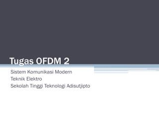 Tugas OFDM 2