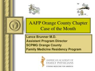 AAFP Orange County Chapter Case of the Month
