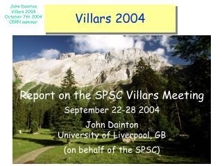 Villars 2004