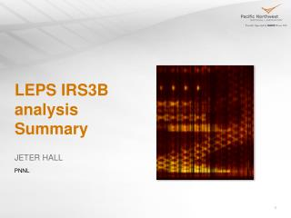 LEPS IRS3B analysis Summary