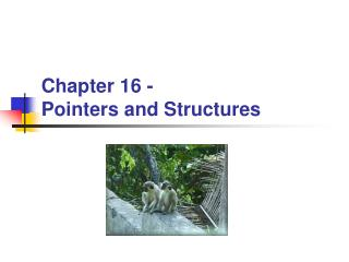 Chapter 16 -  Pointers and Structures