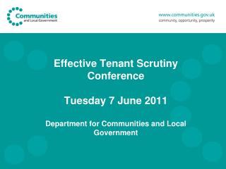 Government Agenda: Localism