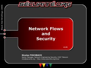 Network Flows and Security 						v1.01