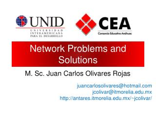 Network Problems and Solutions