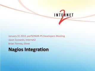 Nagios  Integration
