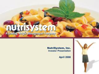 NutriSystem, Inc.  Investor Presentation