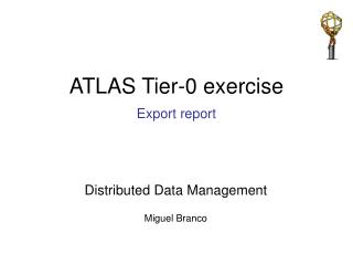 ATLAS Tier-0 exercise