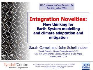 III Conferencia Cientifica do LBA Brasilia, julho 2004