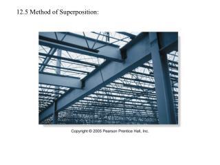 12.5 Method of Superposition: