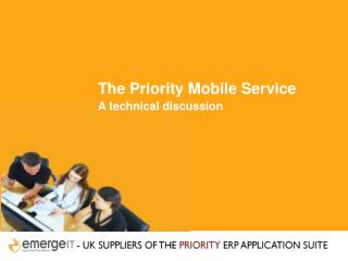 The Priority Mobile Service A technical discussion