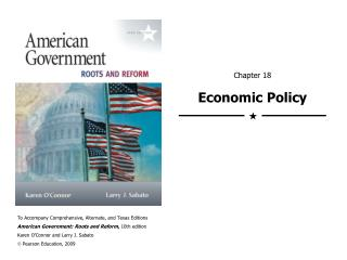 Chapter 18 Economic Policy