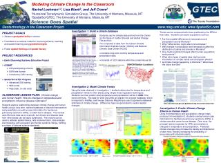 Geotechnology in the Classroom Project