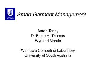 Smart Garment Management