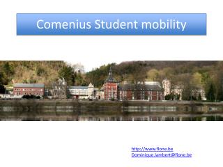 Comenius  Student mobility