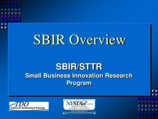 SBIR Overview